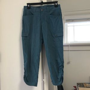 EDDIE BAUER CROPPED PANTS